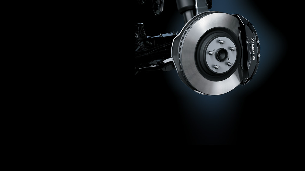 LS_F Sport Ventilated Disc Brakes   Lexus Bahrain