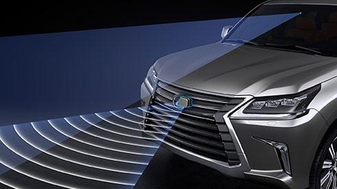 Lexus Nx Hybrid >> New LX Safety Pre-Crash Safety System | Lexus Bahrain