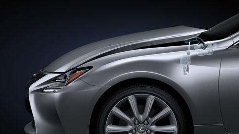 Lexus F Type >> RC_Safety_PUH (Pop Up Hood)   Lexus Bahrain