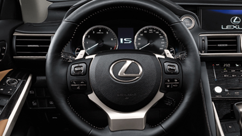 Is 2017 Features Steering Wheel Control Switches Lexus