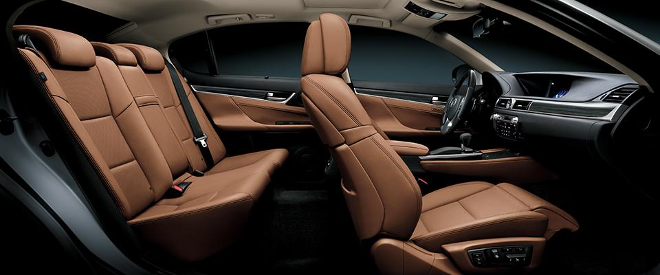 GSInteriorTopaz Brown Lexus Bahrain