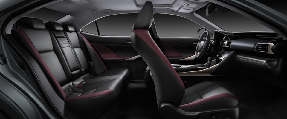 IS 2017 Color Gallery Interior Lexus Bahrain