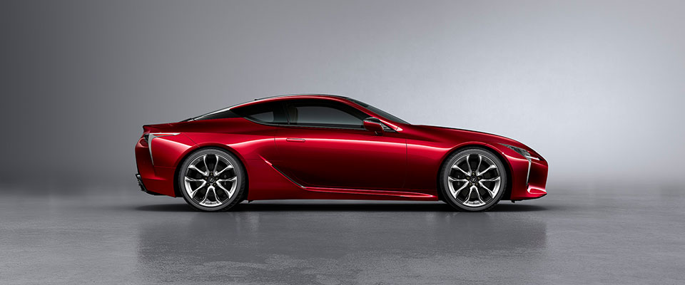 Lexus Lc Exterior Color Radiant Red Contrast Layering