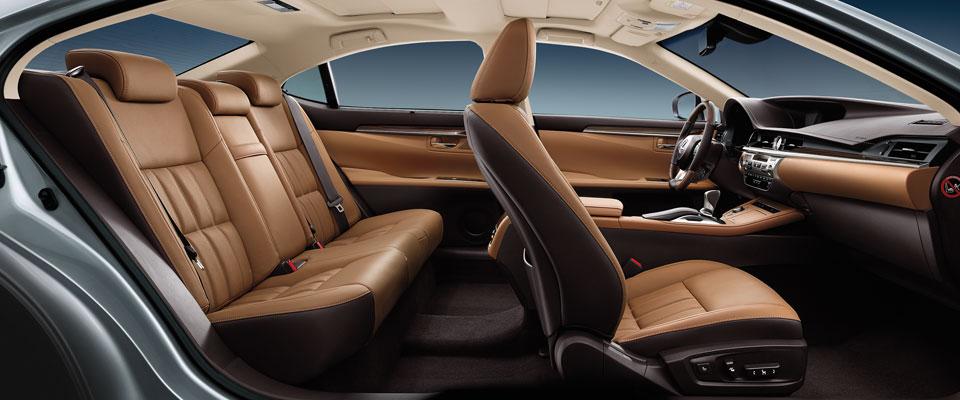Es 2016 Interior Colors Topaz Brown Lexus Bahrain