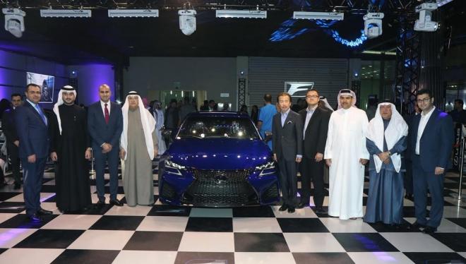 Lexus GS F Launch
