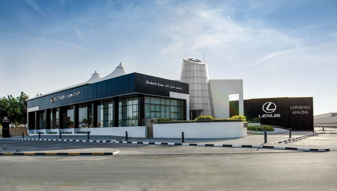 Lexus showroom to extend opening hours for customers