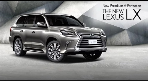 : The 2016 Lexus LX